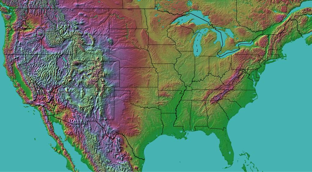 Terrabrowser - The Lower 48 States